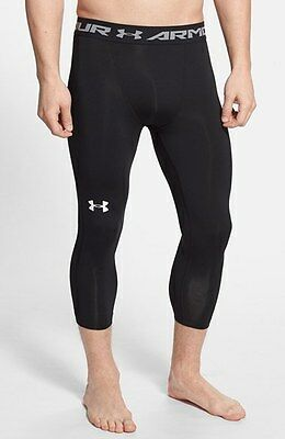 ad6dd8a8fa9fb Under Armour Men's Heat Gear Armour 3/4 Basketball Leggings New FREE POSTAGE