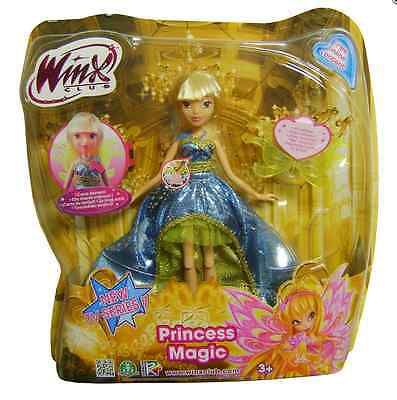 Winx Club Princess Magic Doll Stella New