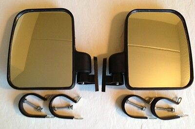 Side View Mirror Set for Arctic Cat Wild Cat/Prowler UTV, Heavy Duty, Large Size