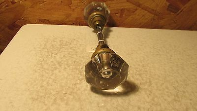 2 Antique Glass Door Knobs  No. 4