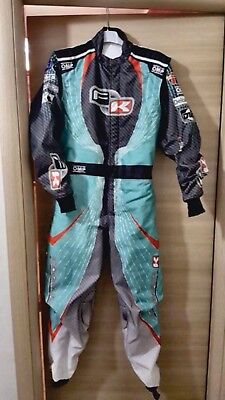 sublimation New FK 2015 Go Kart Race Suit CIK/FIA Level 2 (Free gifts Included)