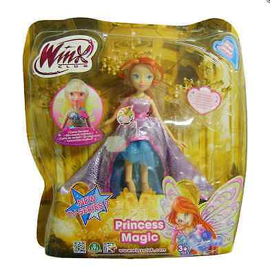Winx Club Princess Magic Doll Bloom New