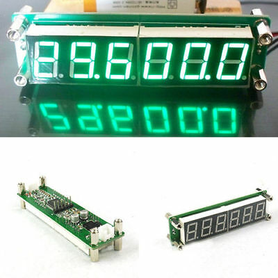 0.1 to 65 MHz RF 6 Digit Led Signal Frequency Counter Cymometer Tester meter gre