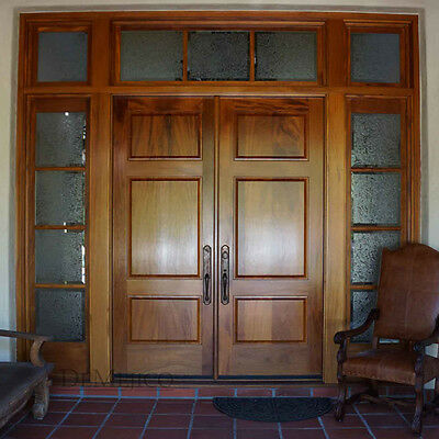 "Stunning, Hand Crafted, Solid Wood Doors by Monarch Custom Doors 96"" x 96"""