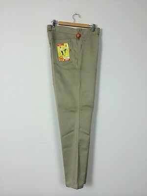 Vtg 50s Rockabilly Deadstock French Chinos Jeans Pants Trousers Chore Work Wear