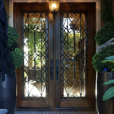 "Stunning, Hand Crafted, Solid Wood Doors by Monarch Custom Doors 72"" x 96"""