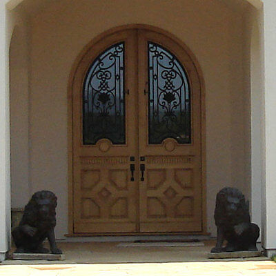 "Stunning, Hand-Crafted, Solid Wood Doors by Monarch Custom Doors 72"" x 96"""