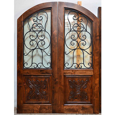 "Stunning, Solid, Hand-Crafted Wood Doors from Monarch Custom Doors 72"" x 96"""