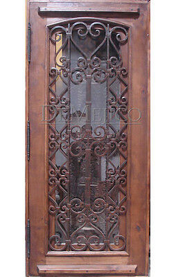 "Stunning, Solid, Hand-Crafted Wood Doors from Monarch Custom Doors 36"" x 96"""