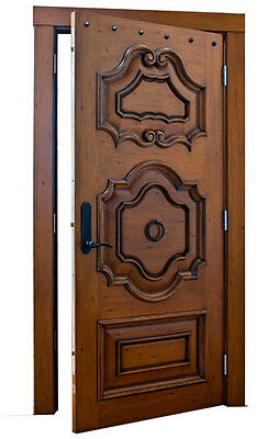 "Stunning, Hand-Carved, Solid Wood Doors by Monarch Custom Doors 36"" x 96"""
