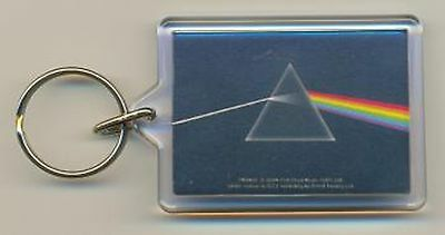 Pink Floyd Dark Side of the Moon Acrylic Keyring Official