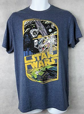 Star Wars Mens Pixel T-Shirt New Officially Licensed Yoda Darth Vader Chewbacca