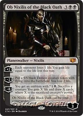 OB NIXILIS OF THE BLACK OATH Commander 2014 MTG Black Planeswalker Mythic Rare
