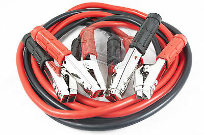 12v car van emergency battery start leads jump jumper booster cables boost 600A