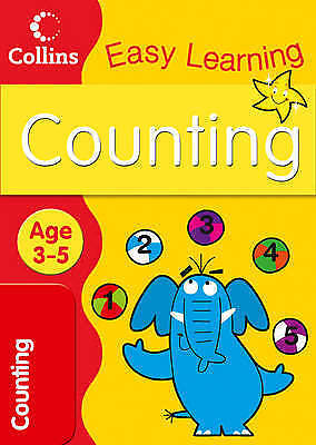 Counting Age 3-5: Book 1 (Collins Easy Learning Age 3-5), Medcalf, Carol, New Bo
