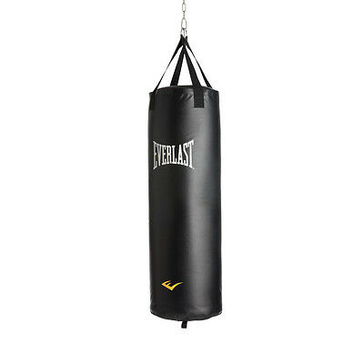 Everlast Nevatear Boxing Filled Heavy Punch Bag with Hanging Straps - 4ft