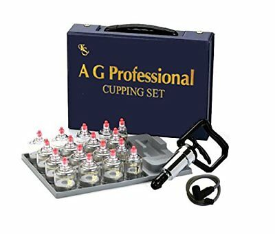 Professional Cupping Set 17cups Vacuum Therapy, Slimming Massage Acupuncture