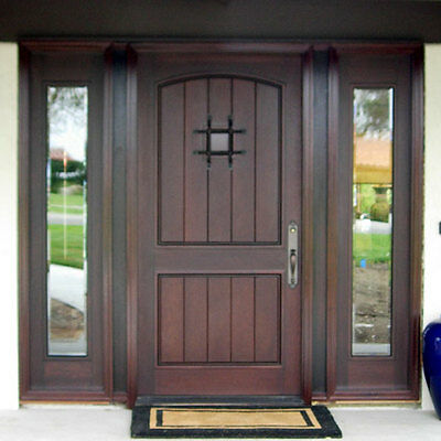 "Stunning, Hand-Crafted, Solid Wood Doors from Monarch Custom Doors 72"" x 96"""