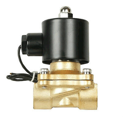 "Air Ride Suspension Valve 3/8""npt Brass Electric Solenoid for Train Horn Fast"