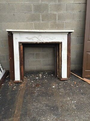 cm Fp 43 Antique Oak Fireplace Mantel 5 Foot