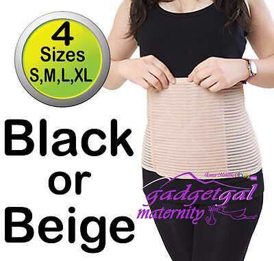 Ventilated Bamboo Post Pregnancy Birth Support Belly Band Postpartum Postnatal