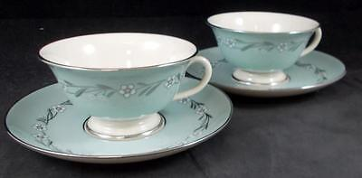 Franciscan DEL RIO 2 Cup and Saucer Sets no signs of use GREAT CONDITION