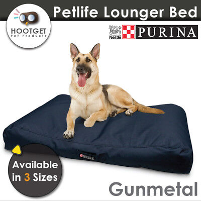 Petlife Lounger Olive - Heavy Duty Waterproof Pet Puppy Dog Bed Mattress Mat AU