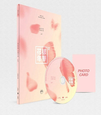 BTS-[IN THE MOOD FOR LOVE] PT.2 3th Mini Album Peach CD+PhotoBook+Card Sealed
