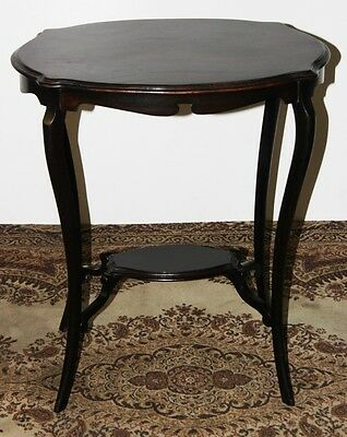 Edwardian Mahogany Oval Table with Under Tier - FREE Shipping [PL1826B]
