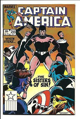 Captain America # 295 (Sisters Of Sin, July 1984), Nm