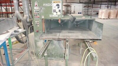 "ANDO TA500 21"" Commercial Band Saw with automated feed table"