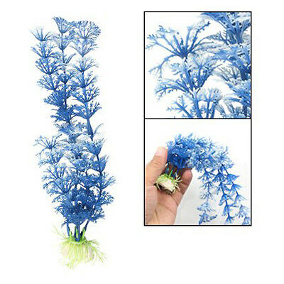 Plastic Grass Underwater Ornament Decoration for Aquarium Fish Tank N3