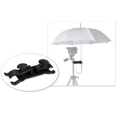 Photography Camera Lighting Umbrella Holder/Clamp Clip for Tripod Light Stand Q