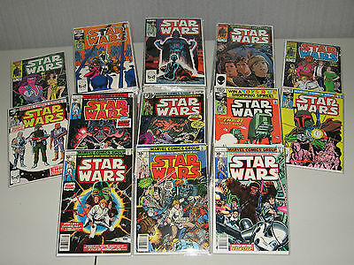 Star Wars 1-107 COMPLETE + Annuals! 70 are NM- or BETTER! Full Grading Details!