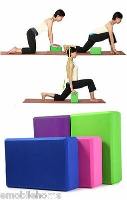 EVA Yoga Block Brick Foaming Foam Home Exercise Fitness Gym Practice Tool