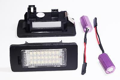 2x LED LICENSE PLATE LIGHT VOLKSWAGEN GOLF VI VARIANT CANBUS  MATRICULA VW 6