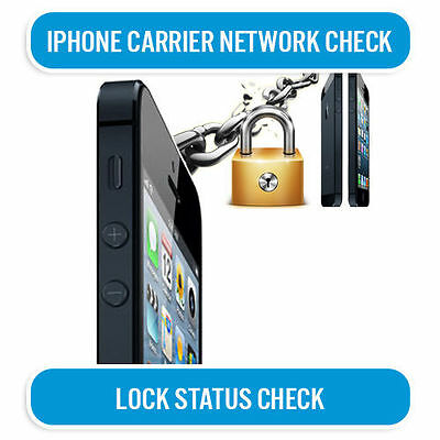 Iphone Carrier Network Check Iphone 5S 5C 5 4S 4 3Gs 6 6+ 6S 100% Apple Gsx Info