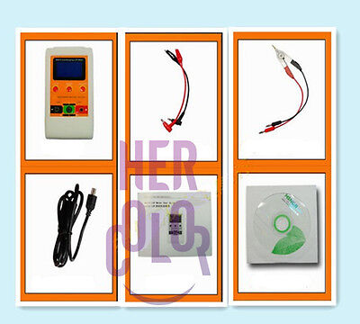 New M4070 AutoRanging LCR Meter Up to 100H 100mF 20MR and SMD Clamp