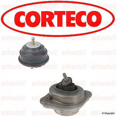 BMW E46 325xi 330xi  01-05 Set of 2 Left and Right Engine Mounts OEM Corteco