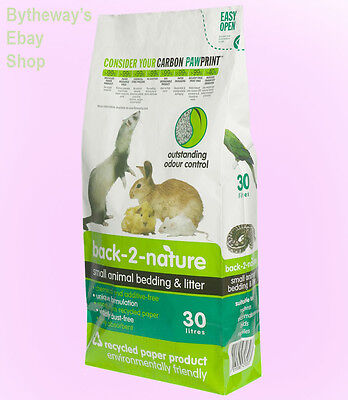 Back 2 Nature Small Animal Bedding 30ltr *BRAND NEW*