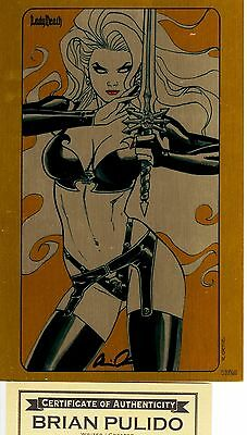 Lady Death Revelations 1 HEAVY METAL edition 17/25 Pulido  ** METAL COVER ** NM