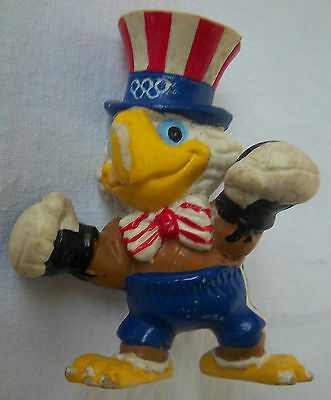 Orig.gum mascot    Olympic Games LOS ANGELES 1984 - BOXING SAM  !!  RARE