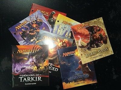 4X Different Fat Pack Guide Book Random Lot MTG Magic the Gathering