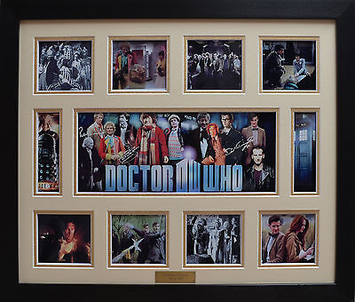 Doctor Who Limited Edition Signature Framed Memorabilia New (w)