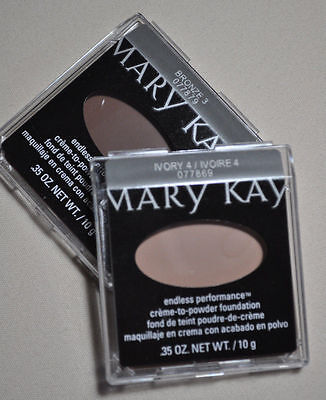 Mary Kay Endless Performance creme-to-powder Foundations (All Shades available)