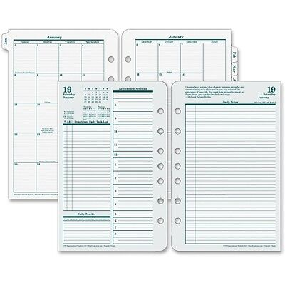 """Franklin Covey Classic Daily Planner Refill - FDP35419  2017 Daily 8.5"""" x 5.5"""""""