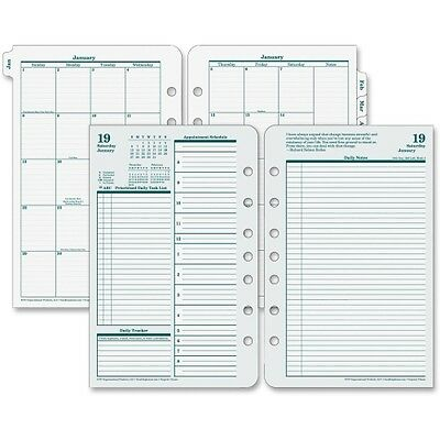 """Franklin Covey Classic Daily Planner Refill - FDP35419  2018 Daily 8.5"""" x 5.5"""""""