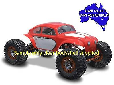 1:10 RC Clear Lexan Body Shell Baja Bug Beetle for Monster Truck or Crawler Colt