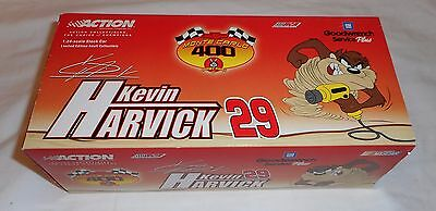 New # 29 Kevin Harvick Gm Goodwrench Taz Rookie 1:24 Die Cast Nascar Nib