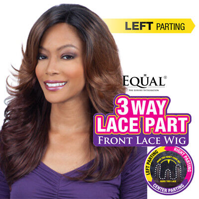 Marvel - Freetress Equal 3 Way Lace Part Synthetic Lace Front Wig